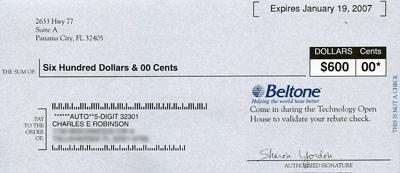 Beltone Check